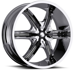 Milanni Wheels 460 Bel Air 6 - Chrome Rim