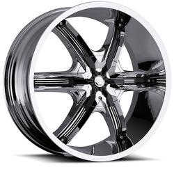 Milanni Wheels 460 Bel Air 6 - Chrome