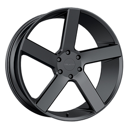 Milanni Wheels Switchback - Satin Black Rim - 24x9.5