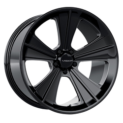 Vision Missile - Gloss Black Milled Spoke