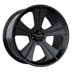 Vision Wheels Missile - Satin Black - 20x11