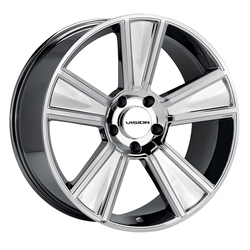 Vision Wheels V223 Stunner - Chrome Rim