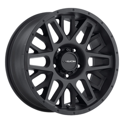 Vision Wheels Shadow - Satin Black - 22x12