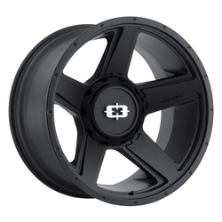 Vision Wheels 390 Empire - Satin Black Rim - 18x9