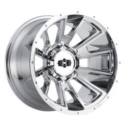Vision Wheels Rebel - Chrome Rim - 20x12