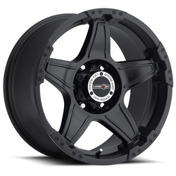 Vision Wheels 395 Wizard - Matte Black Rim - 20x9