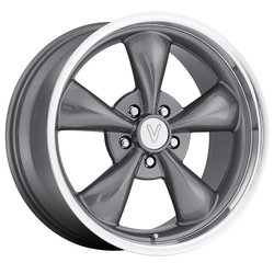 Replica Wheels Mustang Bullet - Gun Metal Machined Lip