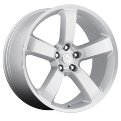 Replica Wheels Dodge Charger - Silver
