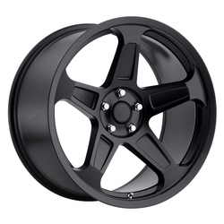 Replica by Voxx Wheels Demon - Matte Black Rim
