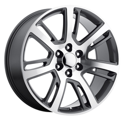Replica by Voxx Wheels Escalade Platinum - Gun Metal Machined Face Rim