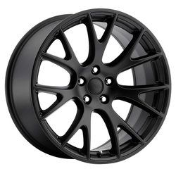Replica by Voxx Wheels Hellcat - Matte Black Rim
