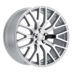 Replica by Voxx Wheels Mustang Performance - Silver Mach Face Rim