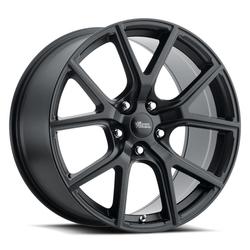 Voxx Wheels Track Hawk - Matte Black Rim - 17x8
