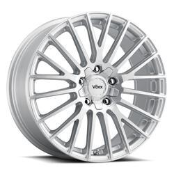 Voxx Wheels Capo - Silver Mach Face Rim - 17x7.5
