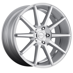 Voxx Wheels Danza - Silver Machined Face and Undercut - 21x10