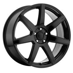 Voxx Wheels Divo - Gloss Black Rim - 18x8