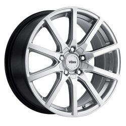 Voxx Wheels Este - Bright Silver Rim - 18x8