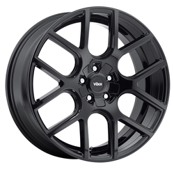 Voxx Wheels Lago - Gloss Black Rim - 18x8