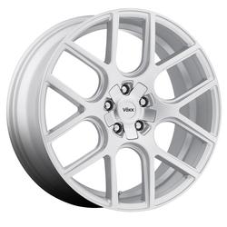 Voxx Wheels Lago - Silver Rim - 17x7.5