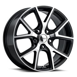 Voxx Wheels Lumi - Gloss Black Machined Face Rim