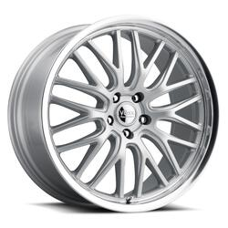 Voxx Wheels Masi - Silver Mirror Mach Lip Rim - 17x7.5