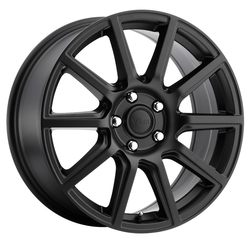 Voxx Wheels Mille - Matte Black Rim - 16x7
