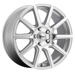 Voxx Wheels Mille - Silver Machined Face Rim - 15x6.5