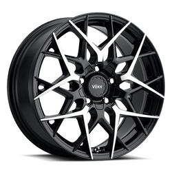 Voxx Wheels Paso - Gloss Black w/ Machined Face Rim