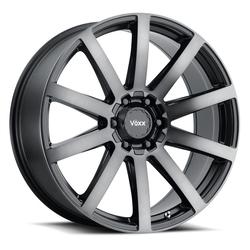 Voxx Wheels Vento - Gloss Black Dark Tint Rim - 17x7.5