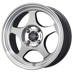 Drag Wheels DR23 - Gun Metal/Machined Face Rim