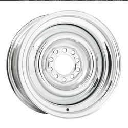 Wheel Vintiques 10 Series Smoothie - Chrome Rim - 18x7