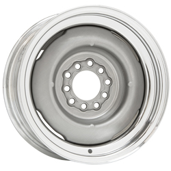 Wheel Vintiques 15 Series Gennie - Chrome/Bare Rim - 15x5