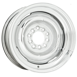 Wheel Vintiques 16 Series Gennie - Chrome Rim - 15x5