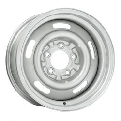 Wheel Vintiques 37 Series 5 Lug Pickup Rallye - Silver Rim - 15x12