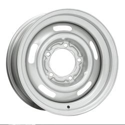Wheel Vintiques 41 Series 5 Lug Pickup Rallye - Silver Rim