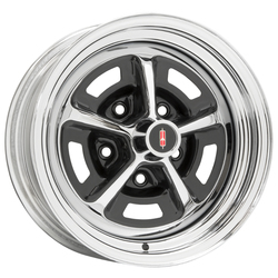 Wheel Vintiques 52 Series Oldsmobile SSI - Chrome/Gloss Black Rim