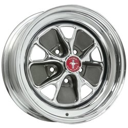 Wheel Vintiques 55 Series Ford - Chrome/Charcoal Rim