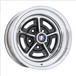 Wheel Vintiques 57 Rallye - Chrome/Gloss Black Rim