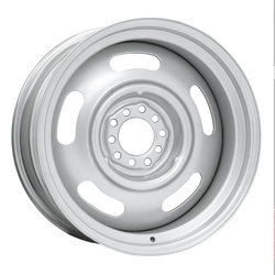 Wheel Vintiques 66 Series Chevy Rallye - Silver