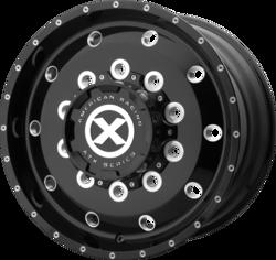 ATX Wheels AO400 Baja Front - Gloss Black Milled - Front Rim - 24.5x8.25