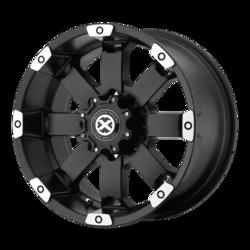 ATX Wheels AX185 Crawl - Matte Black Machined Rim
