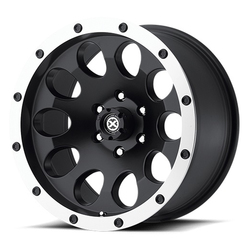 ATX Wheels AX186 Slot - Satin Black With Machined Face