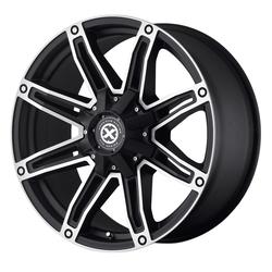 ATX Wheels AX193 - Satin Black With Machined Face Rim