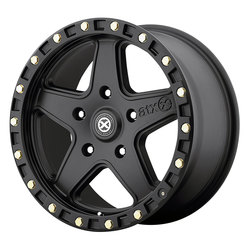 ATX Wheels AX194 Ravine - Textured Black