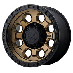 ATX Wheels AX201 - Matte Bronze with Black Lip