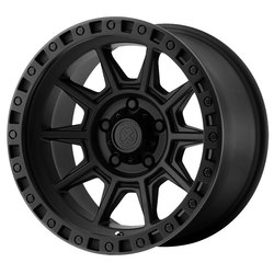 ATX Wheels AX202 - Cast Iron Black