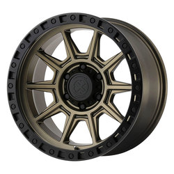 ATX Wheels AX202 - Matte Bronze with Black Lip Rim - 16x8