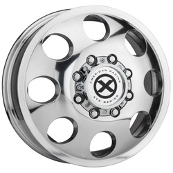 ATX Wheels AX204 Baja Dually (Front) - Polished - Front