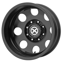 ATX Wheels AX204 Baja Dually (Rear) - Satin Black - 17x6