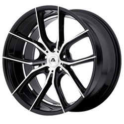 Adventus Wheels AVX-6 - Gloss Black Machined